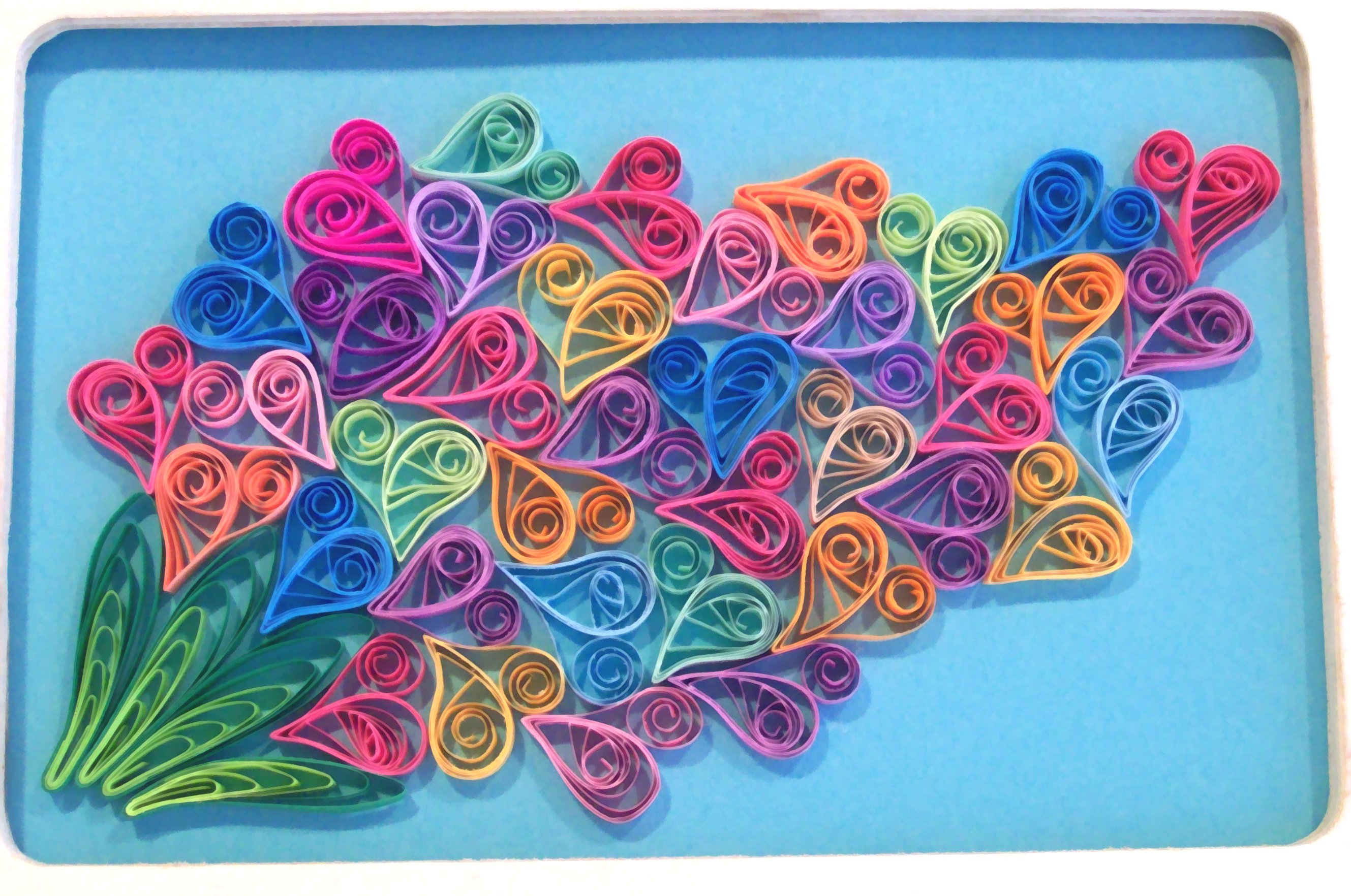 Image gallery quilled artwork for Quilling paper art