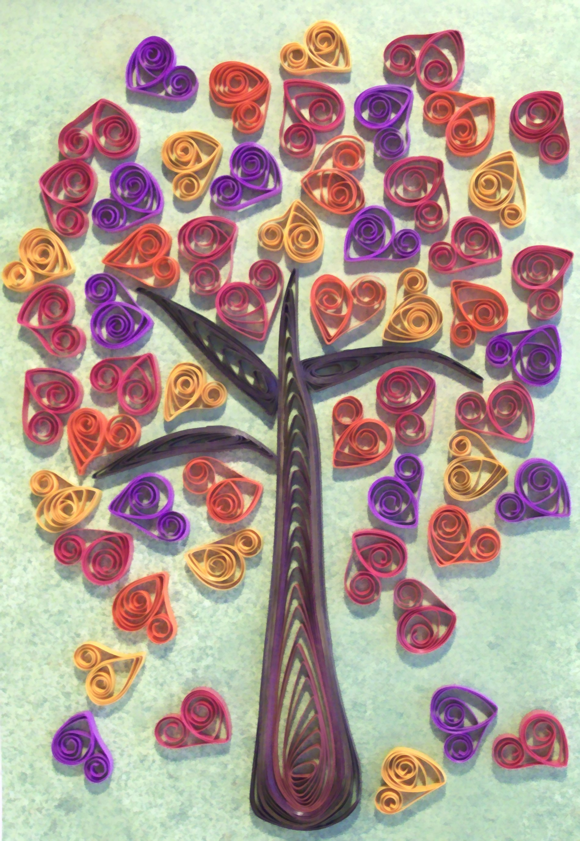Quilled art paper quilling and other crafts for Quilling paper art