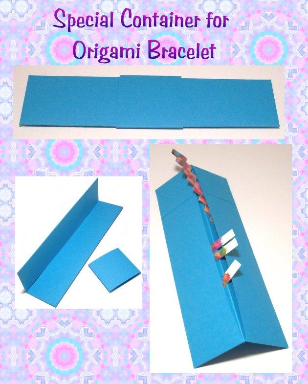 Origami Bracelet Special Container