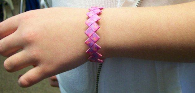 Origami Bracelet Model
