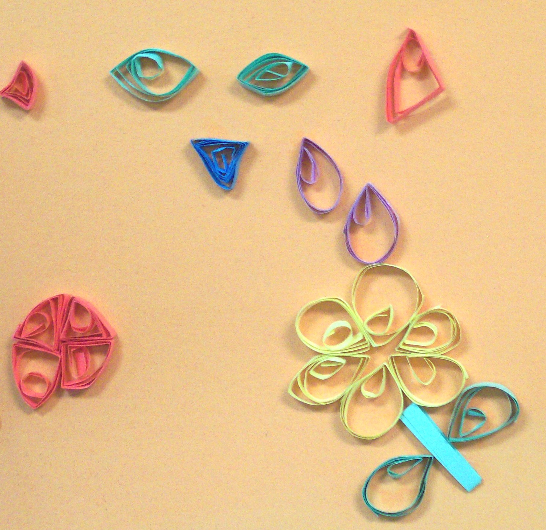 Quilled art paper quilling and other crafts - Paper quilling ideas for kids ...